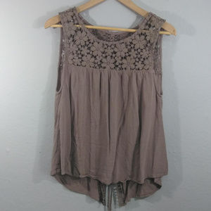 Daytrip Lace Up Tank